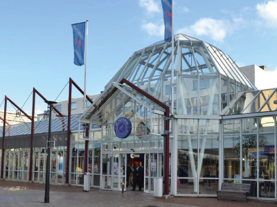 Winkelcentrum De Koperwiek te Capelle ad IJssel