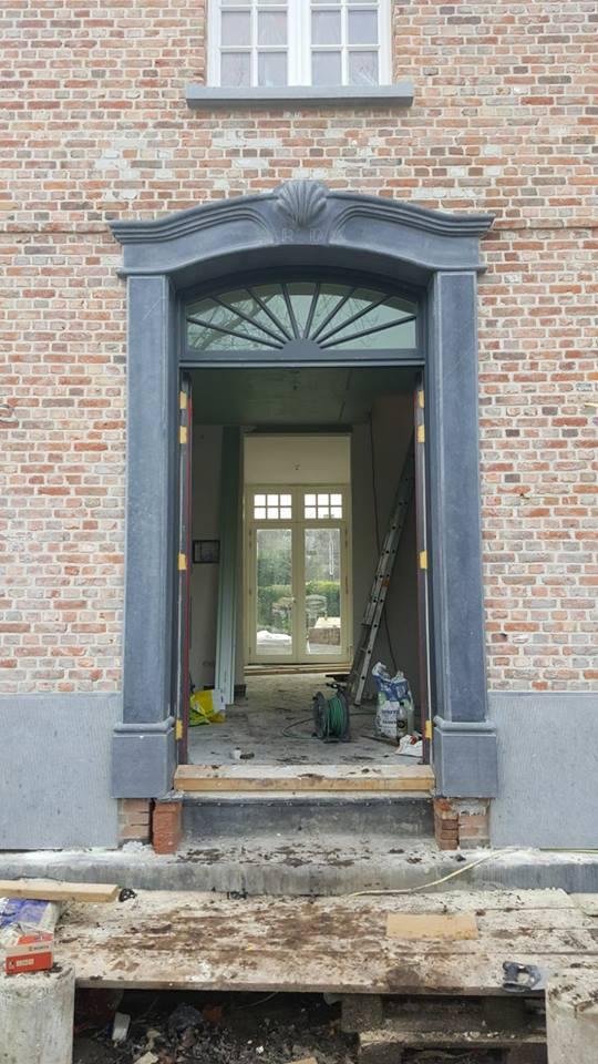 Belgisch Hardsteen deuromlijsting